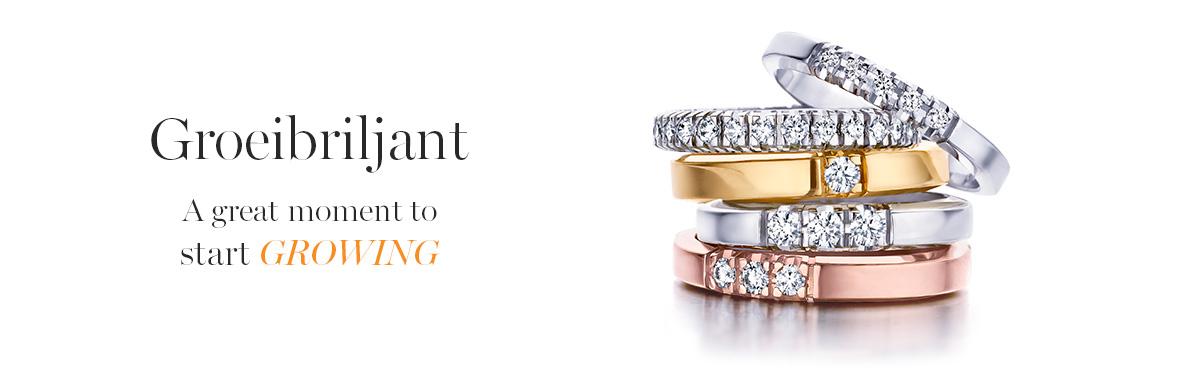 Diamant en groeibriljant bij Wolters Juweliers Coevorden Emmen Hardenberg
