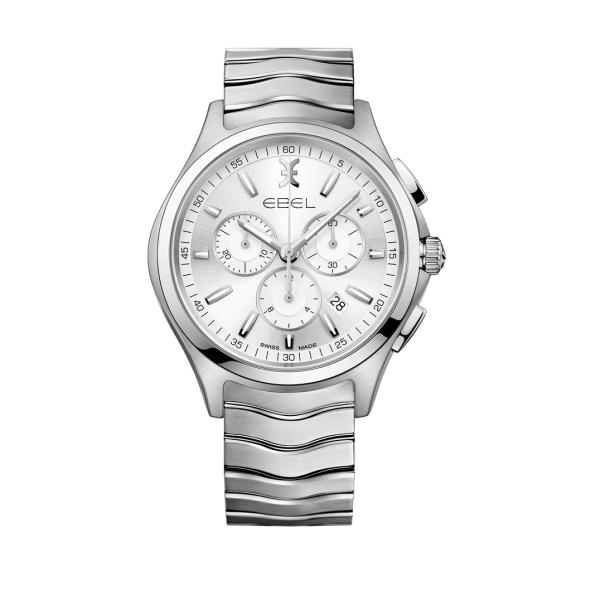 1216340 Ebel Wave Heren Chronograaf Horloge