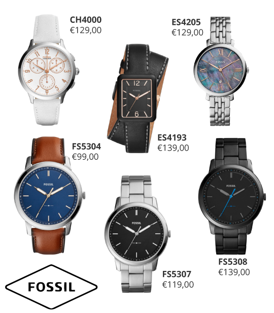 Fossil-horloges-nieuwe-collectie-2017-bij-Wolters-Juweliers Coevorden Emmen