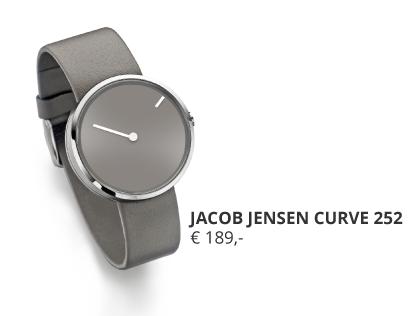 JACOB-JENSEN-CURVE-252 bij Wolters Juweliers regio Hardenberg Hoogeveen