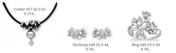 Rabinovich-Adorable-Lace-collectie-ring-649-03-0-44-collier-057-02-0-65-en-oorknop-649-05-0-44-Wolters-Juweliers-Coevorden-Emmen
