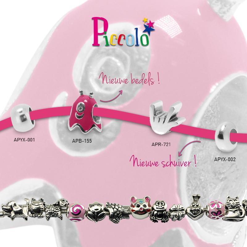 nieuwe collectie piccolo kinderbedels en armbandjes Wolters Juweliers Coevorden Emmen