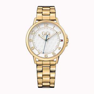 Tommy-Hilfiger-Gigi-Hadid-vergulde-horloge-kopen-bij-Wolters-Juweliers-Coevorden-Emmen