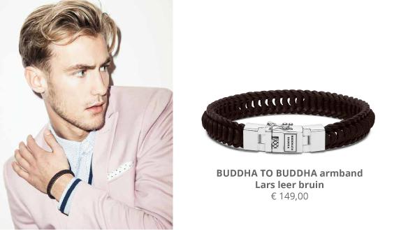 Buddha To Buddha Armband Leer.Wolters Juweliers Buddha To Buddha Armband Lars Leer Bruin Bij