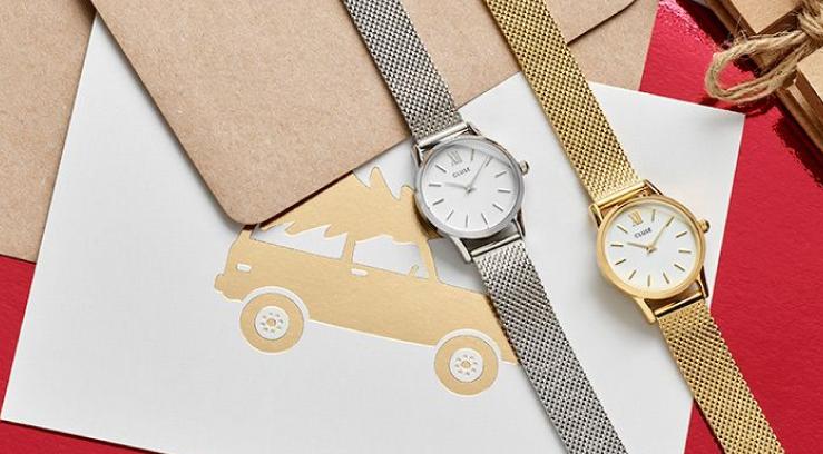 Cluse-La-Vedette horloge  MESH FULL GOLD Wolters Juweliers Coevorden Emmen Hardenberg