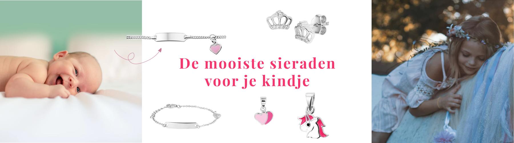 Sieraden-voor-kinderen,-zilveren-armbandjes,-ringetjes,-oorknopjes-bij-Wolters-Juweleirs-Coevoren-Emmen