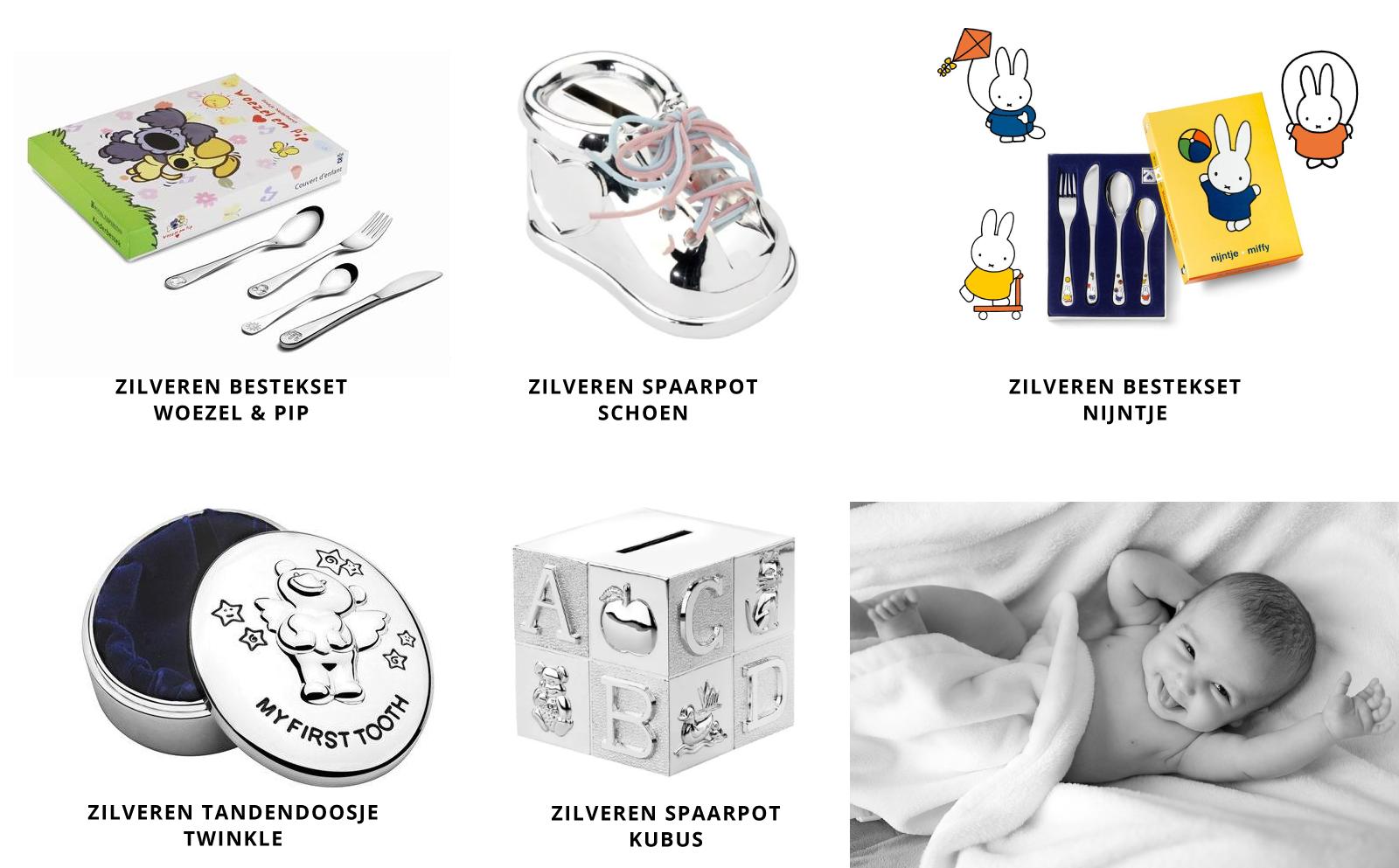Zilverden-bestekset,-zilveren-spaarpot,-zilveren-tandendoosje-kraamcadeautjes-kopen-bij-Wolters-Juweliers-Coevorden-Emmen