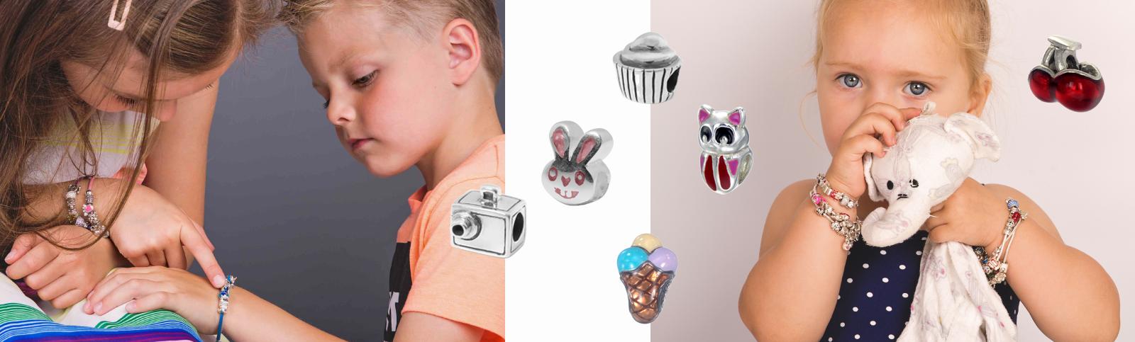 Piccolo armband, bedels, ketting voor kinderen Wolters Juweliers Coevorden Emmen