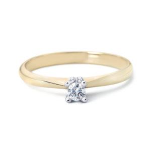 RenC-Gouden-Ring-Lila-14kts-goud-met-briljant-0,03-kopen-bij-Wolters-Juweliers-Coevorden-Emmen