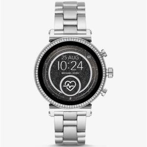 Micheal Kors Smartwatch MKT5061 ZILVER shop nu bij Wolters Juweliers Coevorden Emmen