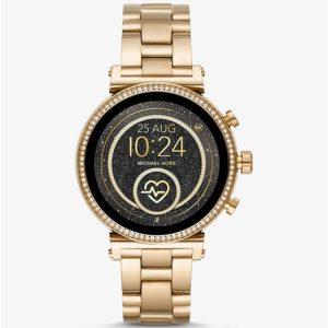 Micheal Kors Smartwatch MKT5062 SOFIE GOLD TONE shop nu bij Wolters Juweliers Coevorden Emmen