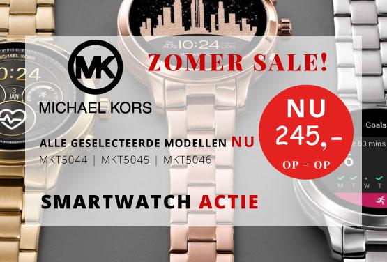 Michael-Kors-smartwatch-actie-ZOMER-SALE-cadeau-mkt5046,-mkt5045,-mkt5044-Wolters-Juweliers-Coevorden-Emmen