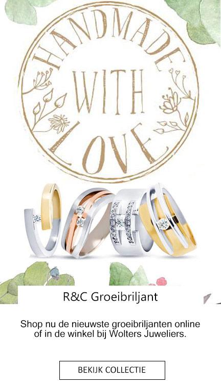 R&C Groeibriljant bij Wolters Juweliers Emmen Coevorden